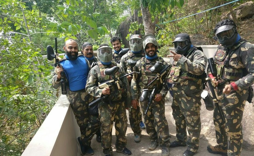 Paintball-jatayu-national park