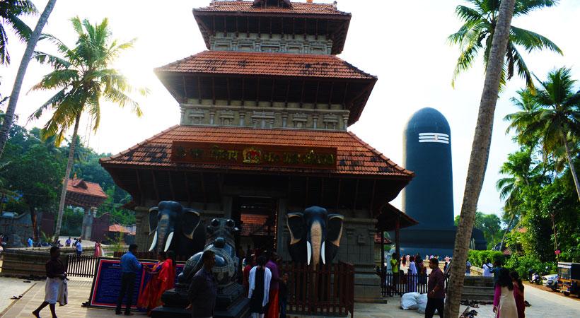 Chenkal Maheswaram Sri Sivaparvathi Temple Shiva Linga