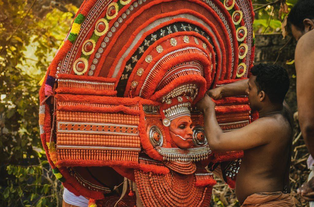 Theyyam costume