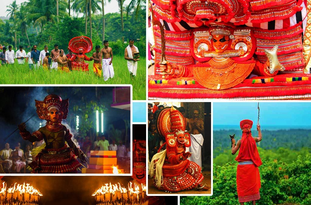 Different types of Theyyam