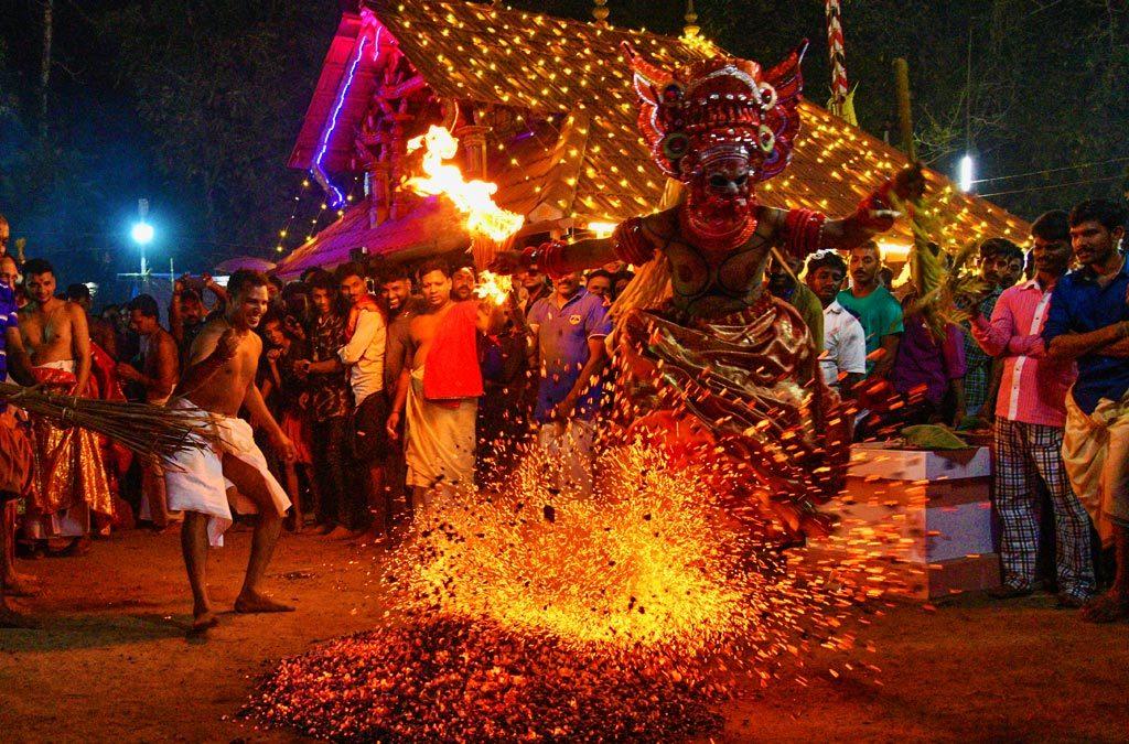 Theyyam rituals in Kerala