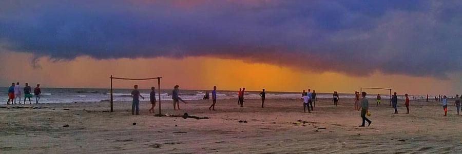Thikkodi beach in Calicut