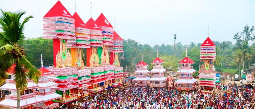Chettikulangara Bharani in Mavelikara Chettikulangara Bhagavathy Temple, Alleppey