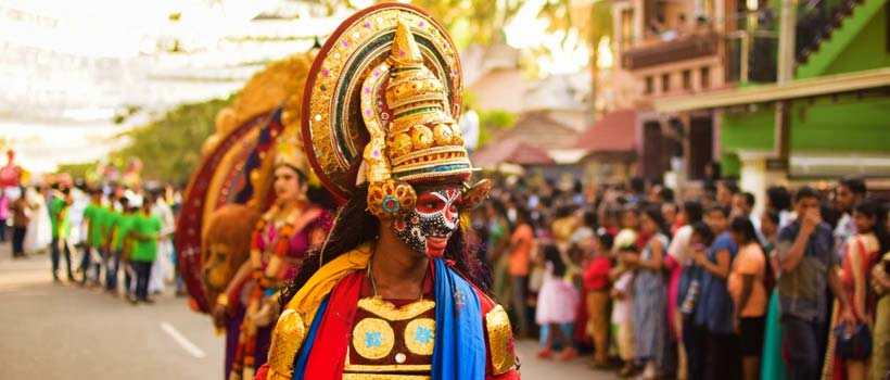 Cochin Carnival in Fort Kochi