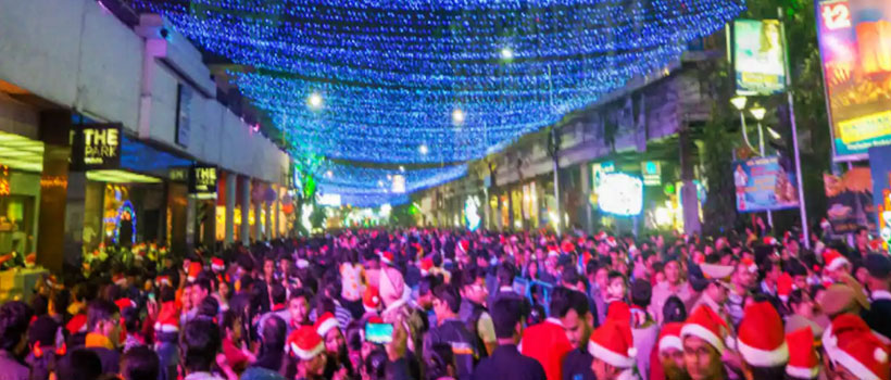 Cochin Carnival Christmas celebration