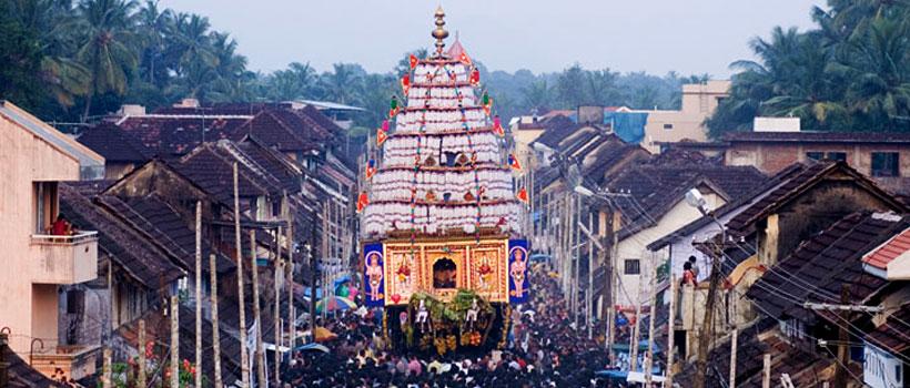 Kalpathy ratholsavam chariot festival in Kalpathy, Kerala