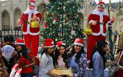Christmas and New Year Celebration in Kerala