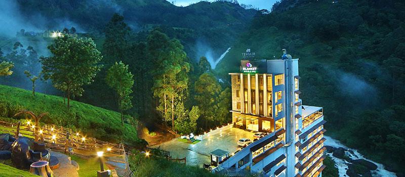 Hotel Blanket in Munnar, Kerala