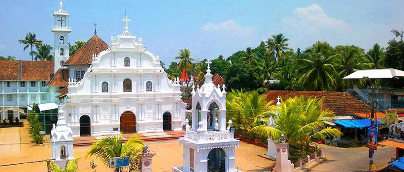 Nadamel St.Mary's Jacobite Syrian Church in Tripunithara, Kochi