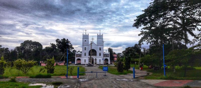 Our Lady of Lourde's Church (Pallikkunnu Church) in Wayanad