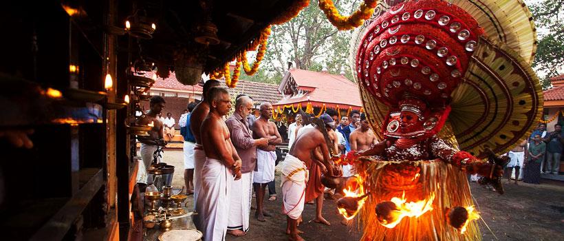Theyyam festival in Kerala