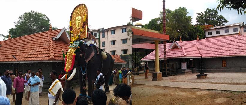 Sree Parthasarathy Temple in Adoor, Pathanamthitta