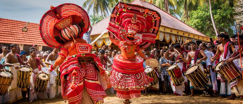 Theyyam Festival in Kannur