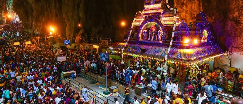 A glimpse of Thaipusam Festival celebration in Kuala Lumpur Batu Caves