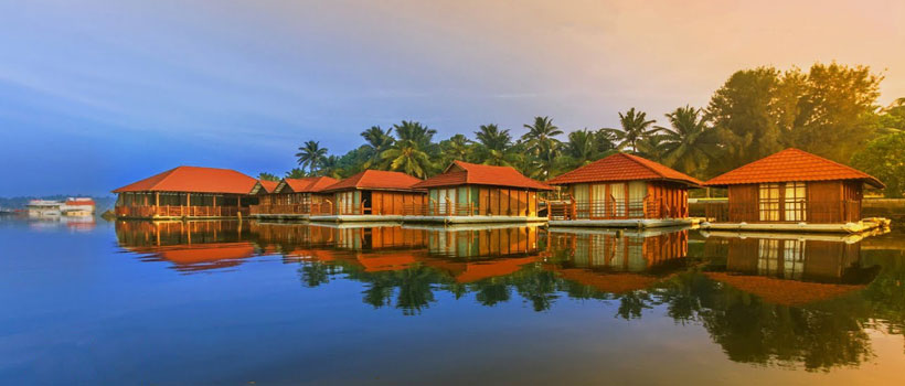 A glimpse of resort Poovar island in Neyyattinkara in the Thiruvananthapuram district of Kerala state