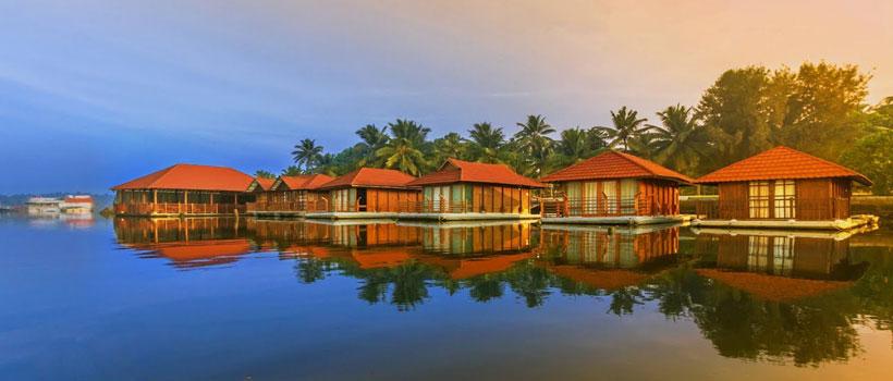 A glimpse of resort Poovar island in Neyyattinkara in the Thiruvananthapuram district of Kerala state