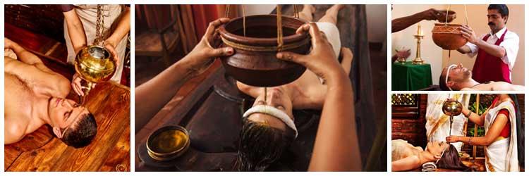Shirodhara Massage Therapy